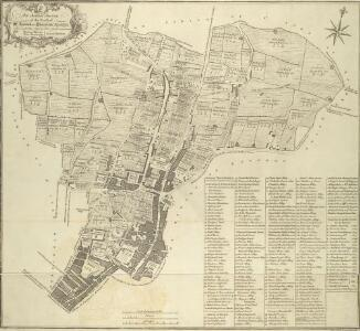An Actual Survey of the Parish of St. Leonard in Shoreditch, Middlesex, taken in the Year 1745 by Peter Chassereau. 4