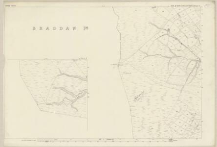 Isle of Man X.4 & 8 - 25 Inch Map