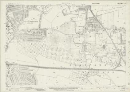 Kent III.13 (includes: Crayford; Erith) - 25 Inch Map