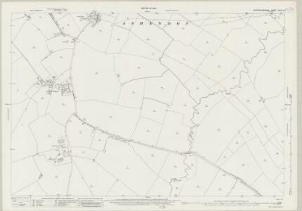 Buckinghamshire XXVII.15 (includes: Ashendon; Lower Winchendon) - 25 Inch Map