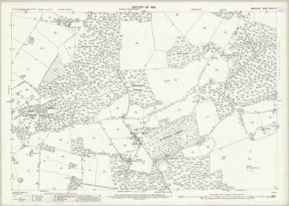 Berkshire XXVIII.13 (includes: Ashampstead; Bradfield; Frilsham; Hampstead Norris; Stanford Dingley; Yattendon) - 25 Inch Map