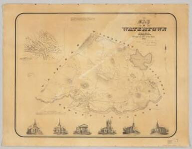 Map of Watertown, Mass. : surveyed by order of the town