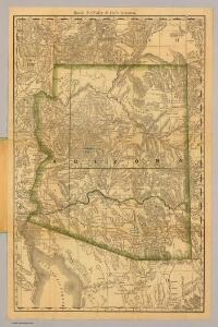 Rand, McNally & Co.'s Arizona.