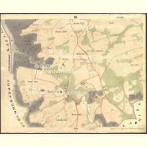 Pernlesdorf - c4854-1-003 - Kaiserpflichtexemplar der Landkarten des stabilen Katasters