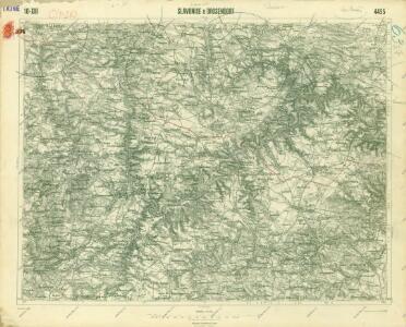 III. vojenské mapování 4455