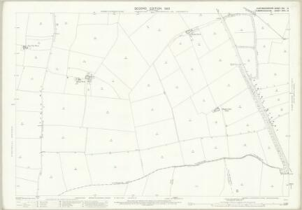 Huntingdonshire XXII.10 (includes: Godmanchester; Graveley; Hemingford Abbots; Offord Cluny; Papworth St Agnes) - 25 Inch Map
