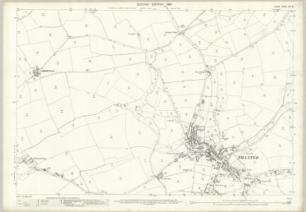 Essex (1st Ed/Rev 1862-96) XIV.8 (includes: Thaxted) - 25 Inch Map