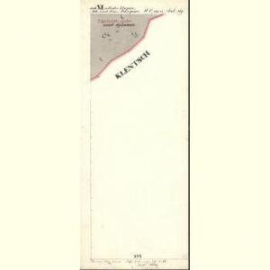 Alt u. Neu Possigkau - c6041-1-016 - Kaiserpflichtexemplar der Landkarten des stabilen Katasters