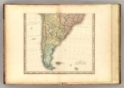 (South America southern half).