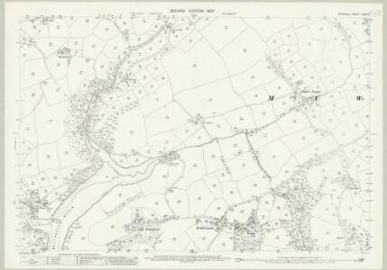 Cornwall LXXVII.6 (includes: Constantine; Mawnan) - 25 Inch Map