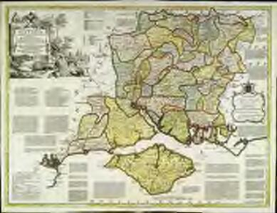A new improved map of Hampshire