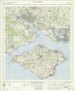 The Solent - OS One-Inch Map