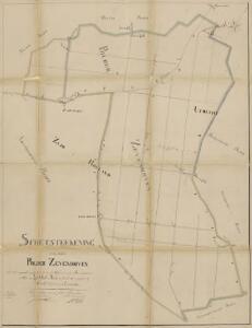 Polder Zevenhoven, gemeente Nieuwveen, Zevenhoven en Mijdrecht (U.).