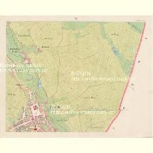 Pressnitz (Prissetnice) - c6248-1-005 - Kaiserpflichtexemplar der Landkarten des stabilen Katasters