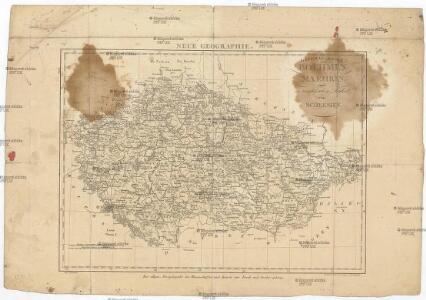 General-Karte von Boehmen Maehren und oesterreichischer Antheil von Schlesien