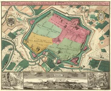 Lipsia, florentißimum ac permunitum Emporium et Academia celeberrima in Circulo Saxonico Superiore