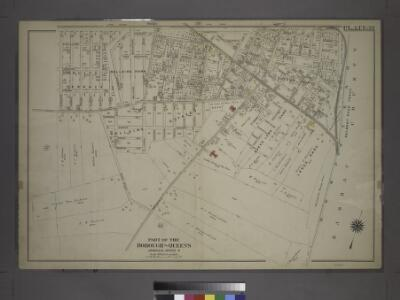 [Plate 39: Bounded by Chichester Ave., Claremont Ave., Queens Blvd., Hempstead and Jamaica Plank Rd., W. Whittier St., Wertland Ave., (Queens Court) Creed Ave., Hempstead and Jamaica Plank Rd., Springfield Rd., Little Plain, Hollis Ave. & Cummings St.]