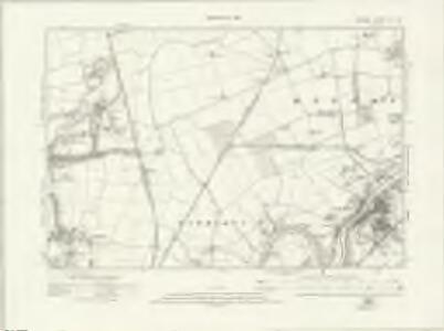 Durham VII.SE - OS Six-Inch Map