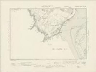 Anglesey XXI.SE - OS Six-Inch Map