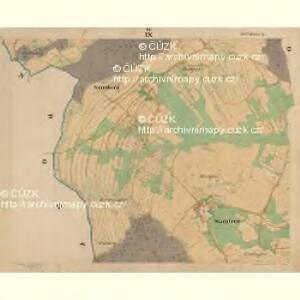 Böhm. Gillowitz - c2059-2-009 - Kaiserpflichtexemplar der Landkarten des stabilen Katasters