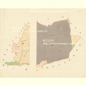 Kojatitz - m1236-1-002 - Kaiserpflichtexemplar der Landkarten des stabilen Katasters