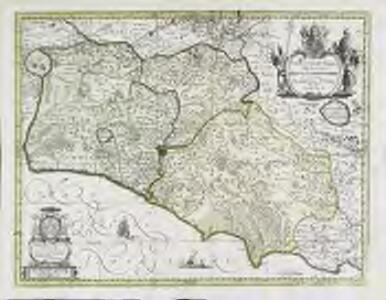 Campagna di Roma, olim Lativm; Tvscia Svbvrbicaria, et in ea patrimonivm S. Petri; nec non Sabina