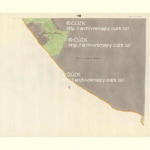 Horniemtsch - m0805-1-008 - Kaiserpflichtexemplar der Landkarten des stabilen Katasters