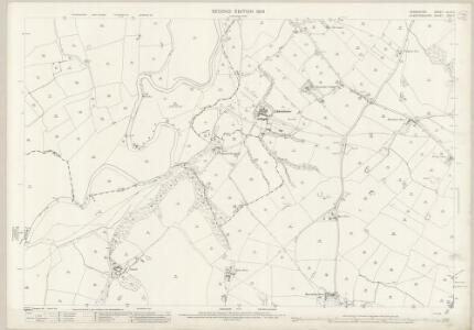 Derbyshire XLVII.7 (includes: Doveridge; Marston Montgomery; Rocester) - 25 Inch Map