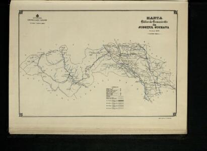 Harta Cailor de Comunicatie din Judetul Suceava