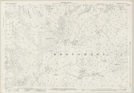 Lancashire VI.8 (includes: Broughton West; Dunnerdale With Seathwaite) - 25 Inch Map