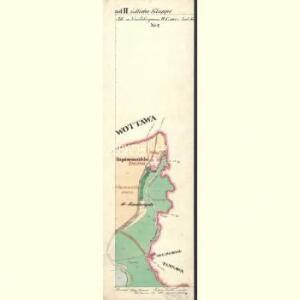 Alt u. Neu Possigkau - c6041-1-013 - Kaiserpflichtexemplar der Landkarten des stabilen Katasters