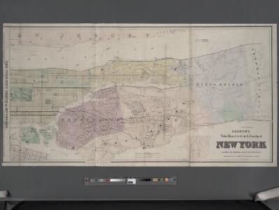Colton's new map of the city and county of New York [North and South of 93rd St.] including the extension north of the Harlem River.