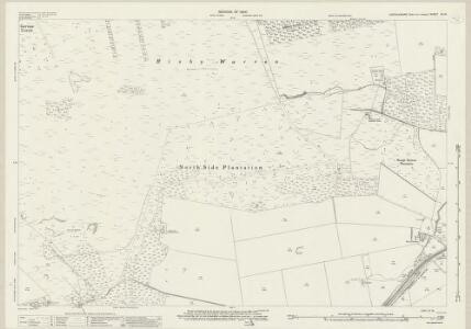 Lincolnshire XI.13 (includes: Appleby; Roxby cum Risby; Scunthorpe) - 25 Inch Map