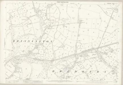 Cheshire X.12 (includes: Bredbury and Romiley; Stockport) - 25 Inch Map