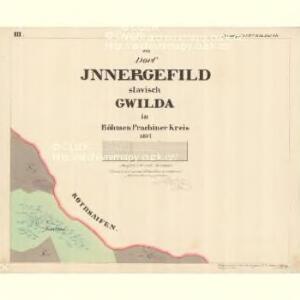 Innergefild - c2191-1-003 - Kaiserpflichtexemplar der Landkarten des stabilen Katasters