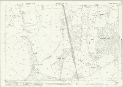 Surrey XXXIII.8 (includes: Betchworth; Holmwood; Milton) - 25 Inch Map