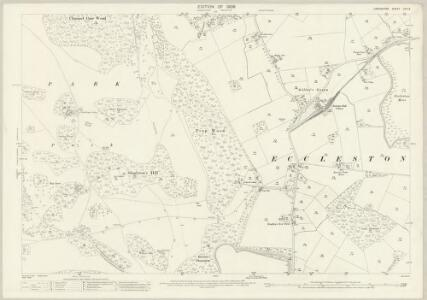 Lancashire CVII.3 (includes: Eccleston; Knowsley; St Helens) - 25 Inch Map
