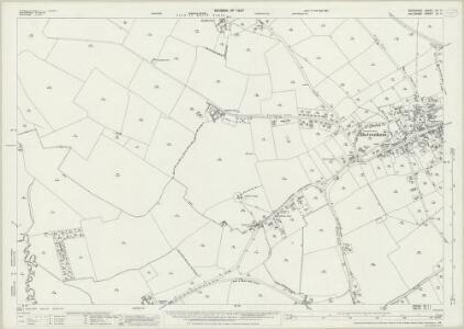 Berkshire XII.11 (includes: Bourton; Shrivenham) - 25 Inch Map