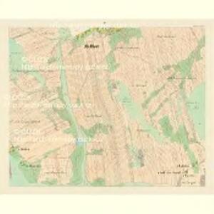 Mellhut (Lhota) - c2558-2-004 - Kaiserpflichtexemplar der Landkarten des stabilen Katasters