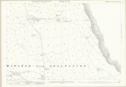 Yorkshire XXXII.12 (includes: Hawsker With Stainsacre) - 25 Inch Map