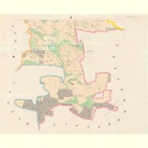 Nahoschin (Nahossin) - c4948-1-002 - Kaiserpflichtexemplar der Landkarten des stabilen Katasters