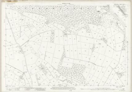 Derbyshire XXXIX.8 (includes: Alderwasley; Ashleyhay; Crich; Heage; Shottle and Postern) - 25 Inch Map