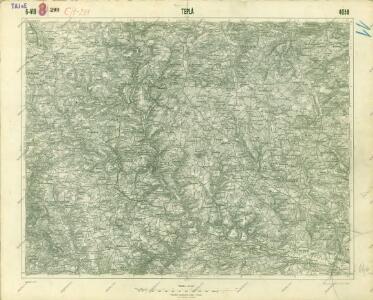 III. vojenské mapování 4050