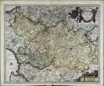 Geographica Artesiæ comitatus tabula
