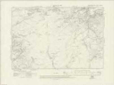 Caernarvonshire XVI.SE - OS Six-Inch Map
