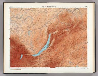 37-38.  Baikal, Transbaikal Regions.  The World Atlas.