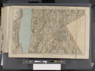 Westchester, Double Page Plate [Map of Westchester County, Irvington, Tarry Town to Sing Sing, East to State Line] / prepared under the direction of Joseph R. Bien, from general surveys and official records.