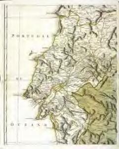 Mappa ou carta geographica dos reinos de Portugal e Algarve, 3