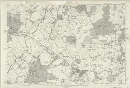 Berkshire XXXVII - OS Six-Inch Map