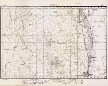 Lambert-Cholesky sheet 5258 (Scînteeşti)